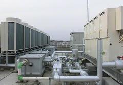 高効率型冷暖フリー空調工事