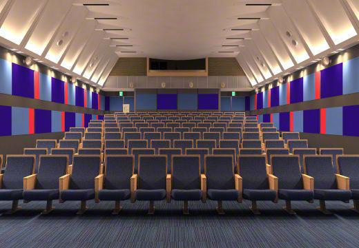映画館のリニューアル工事